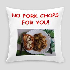 pork chops Everyday Pillow