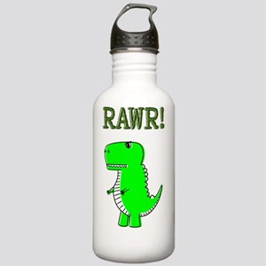 Cute Angry T-Rex RAWR Stainless Water Bottle 1.0L