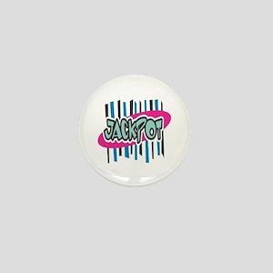Jackpot (Pink & Blue) Mini Button