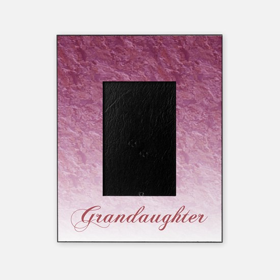 Grandaughter Marble Picture Frame