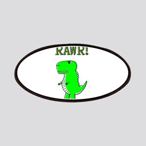 Cute Angry T-Rex RAWR Patch
