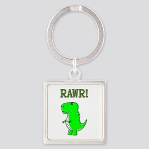 Cute Angry T-Rex RAWR Keychains