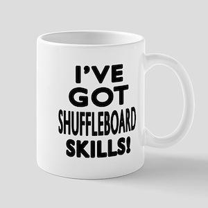 Shuffleboard Skills Designs Mug