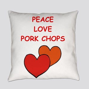 pork,chop Everyday Pillow