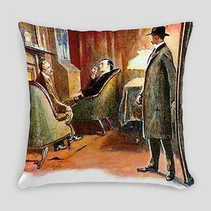 Skerock Holmes illustrations Everyday Pillow