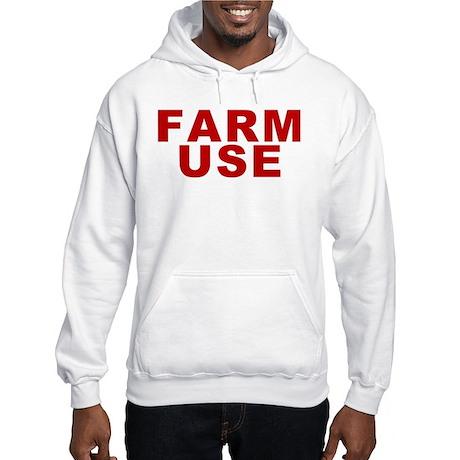 Farm Use Hooded Sweatshirt