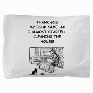 reader Pillow Sham