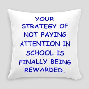 dumb Everyday Pillow
