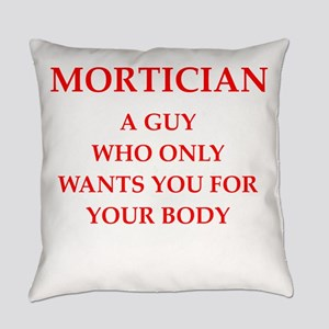 mortician Everyday Pillow