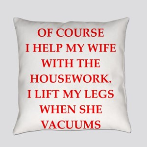male chauvinist pig Everyday Pillow