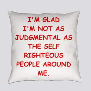 self righteous Everyday Pillow