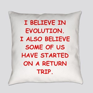 devolution Everyday Pillow