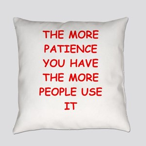patience Everyday Pillow