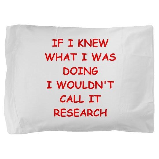 research Pillow Sham