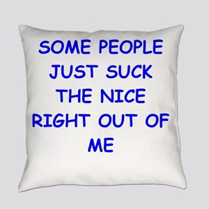 i hate people Everyday Pillow