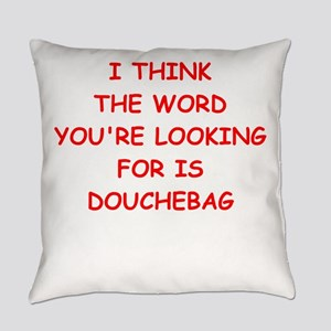 douchebag Everyday Pillow
