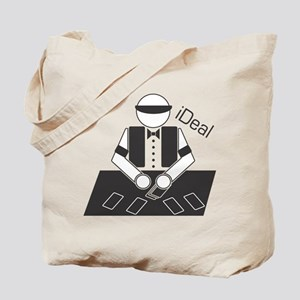 iDeal (Casino Dealer) Tote Bag