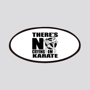 There Is No Crying In Karate Patch