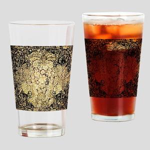 Vintage, wonderful damask Drinking Glass