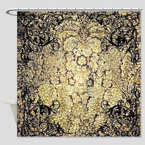 Vintage, wonderful damask Shower Curtain