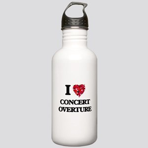 I Love My CONCERT OVER Stainless Water Bottle 1.0L