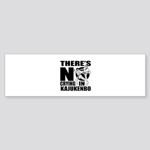 There Is No Crying In Kajukenbo Sticker (Bumper)