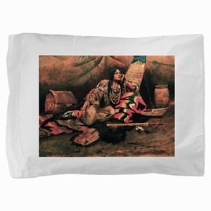 native americans Pillow Sham