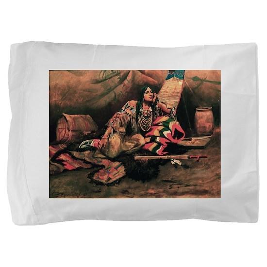native americans Pillow Sham