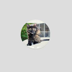 callie the cat Mini Button