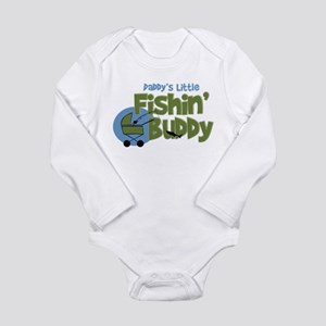 Daddy's Little Fishin' Long Sleeve Body Su