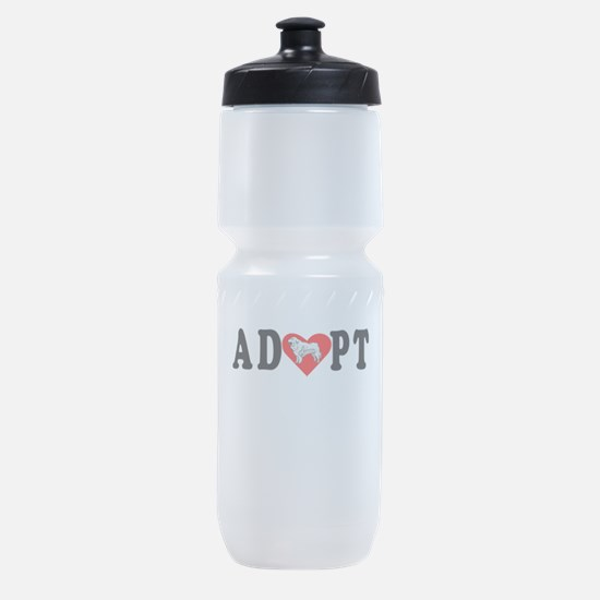 Adopt Great Pyrenees Sports Bottle