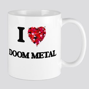 I Love My DOOM METAL Mugs