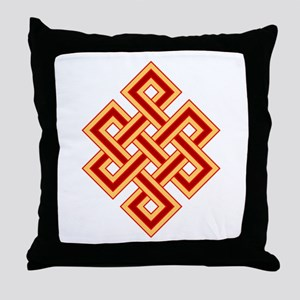 Endless Knot Throw Pillow