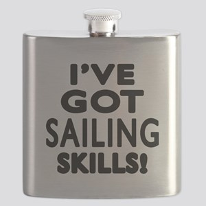 Sailing Skills Designs Flask