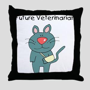 Future Veterinarian 3 Throw Pillow