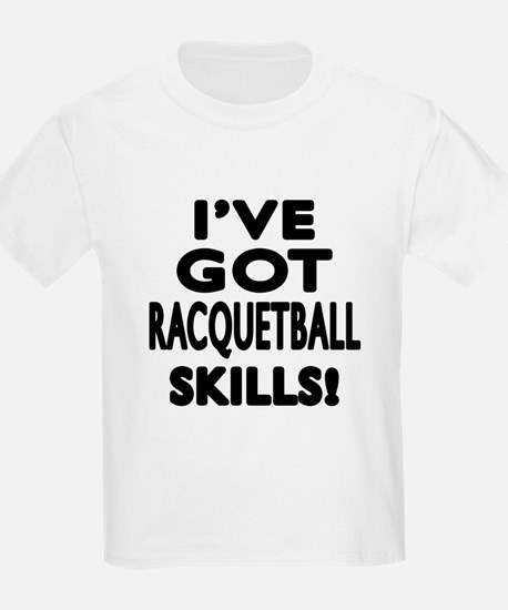 Racquetball Skills Designs T-Shirt