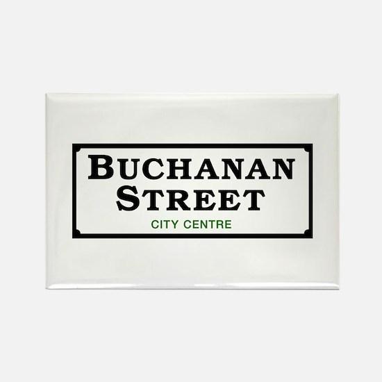 Buchanan St, Glasgow, UK Rectangle Magnet