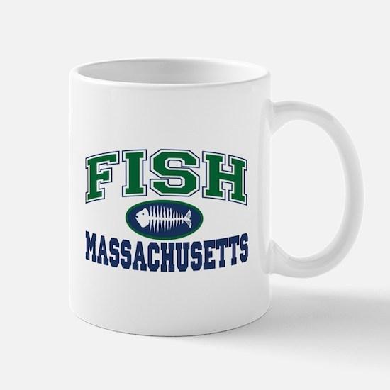 Fish Massachusetts Mug