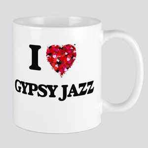 I Love My GYPSY JAZZ Mugs