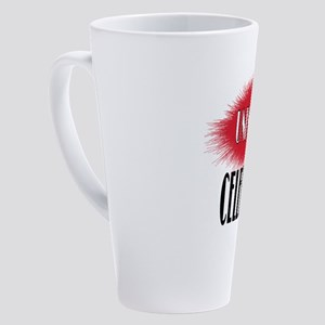 UNKNOWN CELEBRITY 17 oz Latte Mug