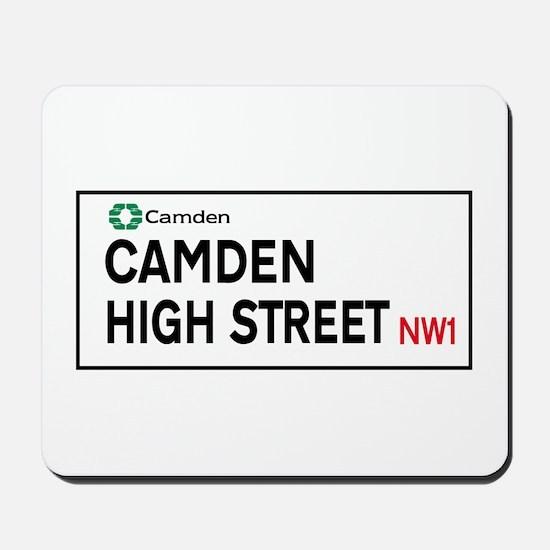 Camden High St, London, UK Mousepad