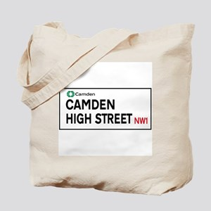 Camden High St, London, UK Tote Bag