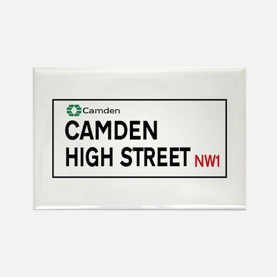 Camden High St, London, UK Rectangle Magnet