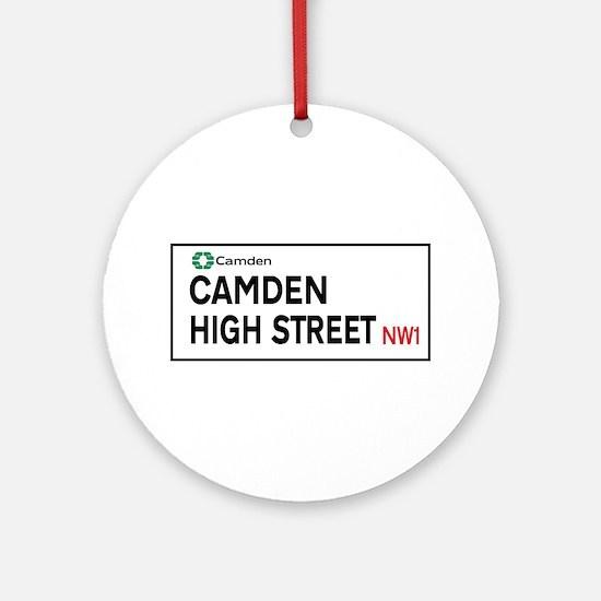 Camden High St, London, UK Round Ornament