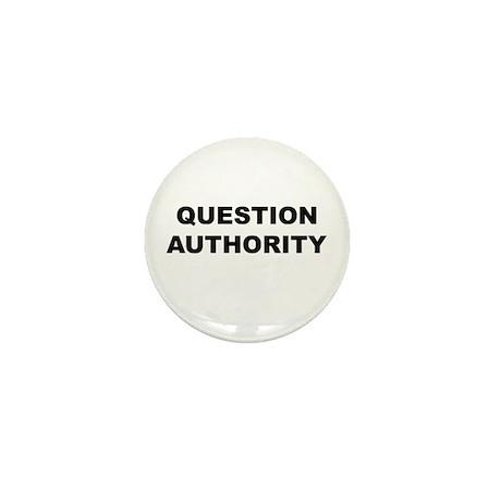 Question Authority Mini Button (10 pack)