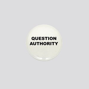 Question Authority Mini Button