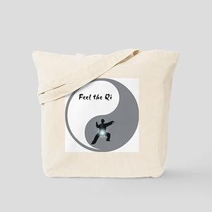 Feel the Qi Tote Bag
