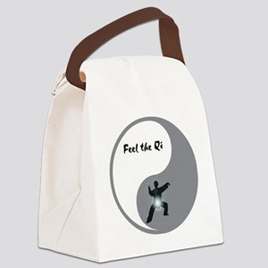 Feel the Qi Canvas Lunch Bag