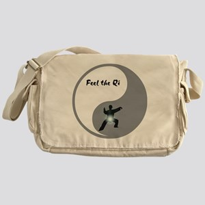 Feel the Qi Messenger Bag