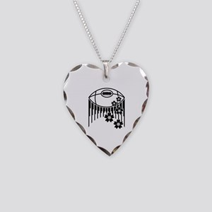 japan rugby Necklace Heart Charm